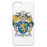 Escudo de la familia de Castellblanch iPhone 5 Case-Mate Cárcasa