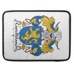 Escudo de la familia de Castellblanch Funda Para Macbook Pro
