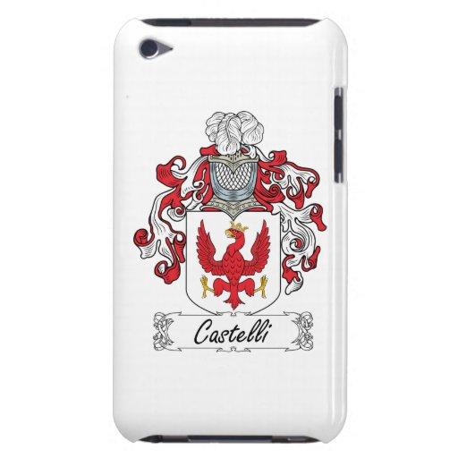 Escudo de la familia de Castelli Barely There iPod Protector