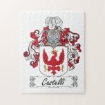 Escudo de la familia de Castelli Puzzles