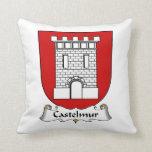 Escudo de la familia de Castelmur Cojin