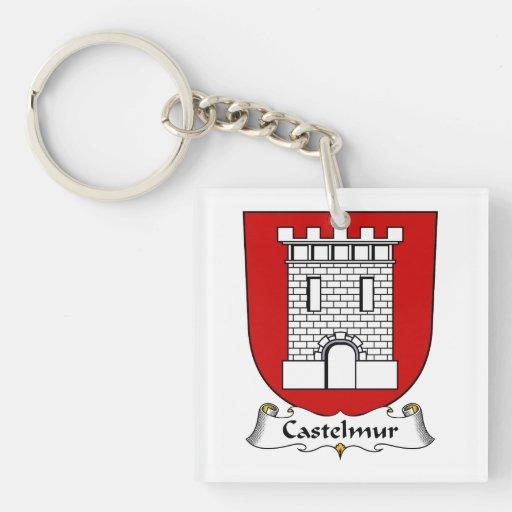 Escudo de la familia de Castelmur Llavero