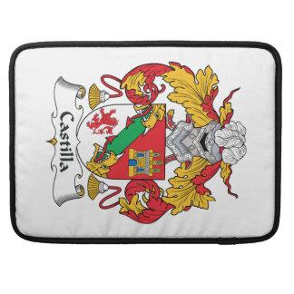 Escudo de la familia de Castilla Fundas Macbook Pro