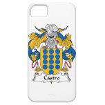 Escudo de la familia de Castro iPhone 5 Case-Mate Carcasa
