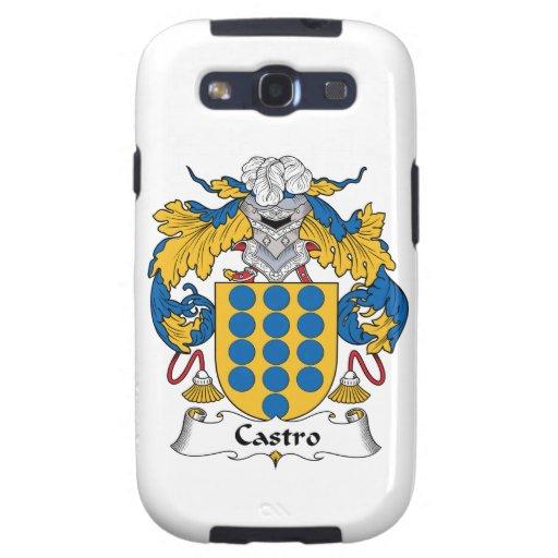 Escudo de la familia de Castro Galaxy S3 Protectores