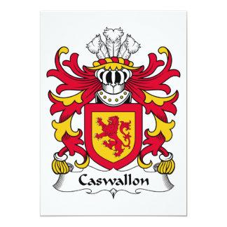 Escudo de la familia de Caswallon