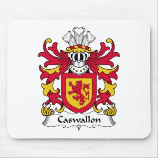 Escudo de la familia de Caswallon Tapetes De Raton