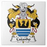 Escudo de la familia de Catanho Azulejo