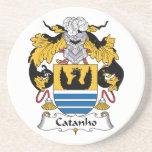 Escudo de la familia de Catanho Posavaso Para Bebida