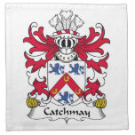Escudo de la familia de Catchmay Servilletas De Papel