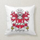 Escudo de la familia de Catharne Cojines