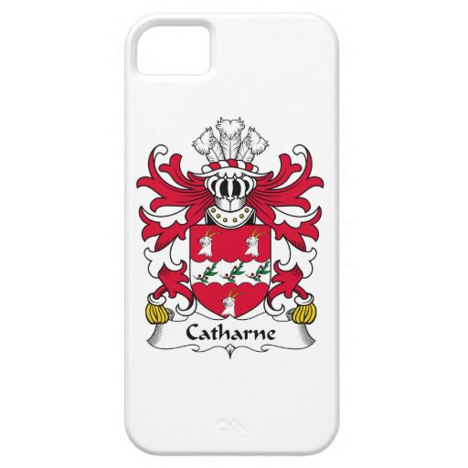 Escudo de la familia de Catharne iPhone 5 Case-Mate Fundas