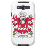 Escudo de la familia de Catharne Samsung Galaxy S3 Funda