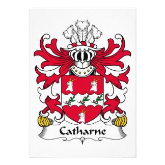 Escudo de la familia de Catharne Anuncios
