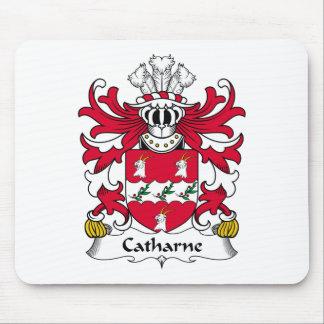 Escudo de la familia de Catharne Tapetes De Raton