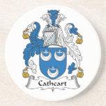 Escudo de la familia de Cathcart Posavasos Personalizados