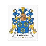 Escudo de la familia de Catherine Impresiones En Lona