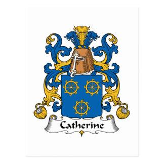 Escudo de la familia de Catherine Postal