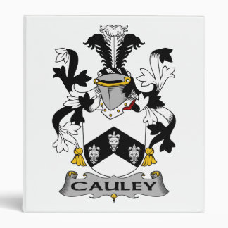 "Escudo de la familia de Cauley Carpeta 1"""