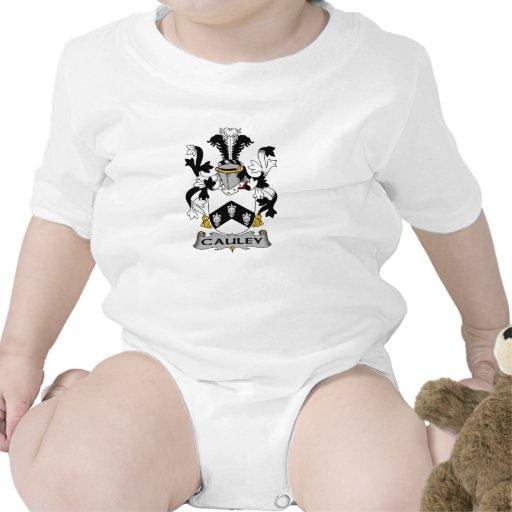 Escudo de la familia de Cauley Trajes De Bebé