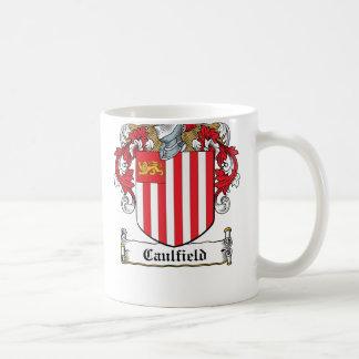 Escudo de la familia de Caulfield Taza De Café