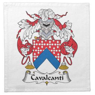 Escudo de la familia de Cavalcanti Servilleta De Papel