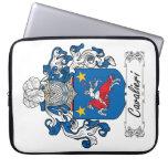 Escudo de la familia de Cavalieri Fundas Computadoras
