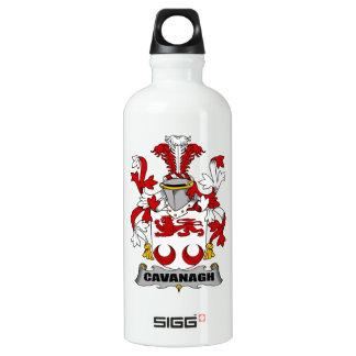 Escudo de la familia de Cavanagh Botella De Agua