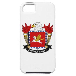 Escudo de la familia de Caverly Funda Para iPhone 5 Tough