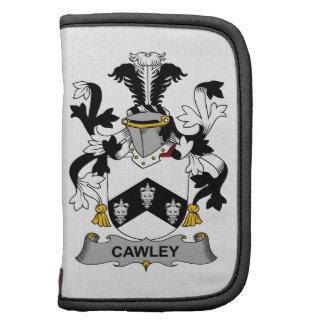 Escudo de la familia de Cawley Planificador