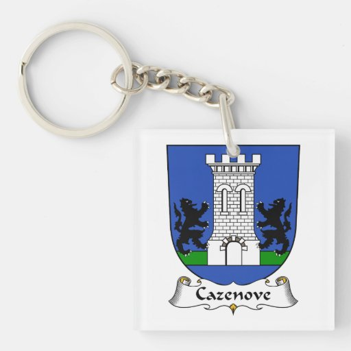 Escudo de la familia de Cazenove Llavero
