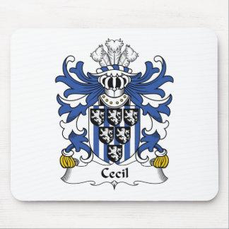 Escudo de la familia de Cecil Tapetes De Raton