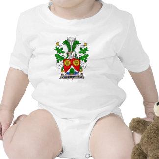 Escudo de la familia de Cederstrom Traje De Bebé