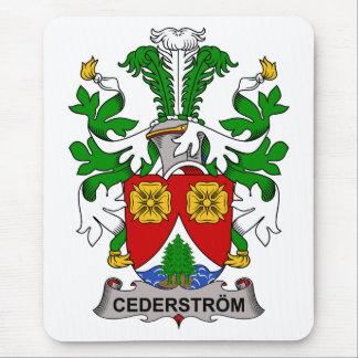 Escudo de la familia de Cederstrom Alfombrilla De Raton