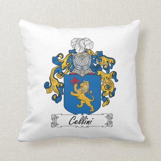 Escudo de la familia de Cellini Cojín