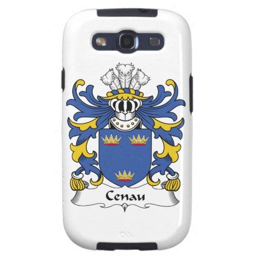 Escudo de la familia de Cenau Galaxy S3 Cárcasa