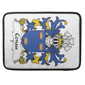 Escudo de la familia de Cenau Funda Macbook Pro