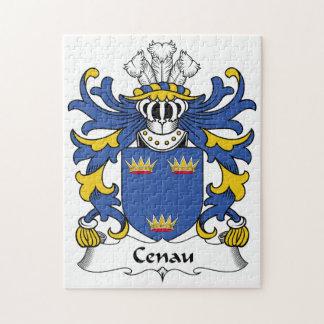Escudo de la familia de Cenau Puzzle