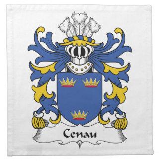 Escudo de la familia de Cenau Servilleta