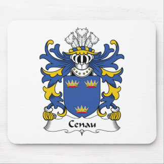 Escudo de la familia de Cenau Alfombrilla De Raton