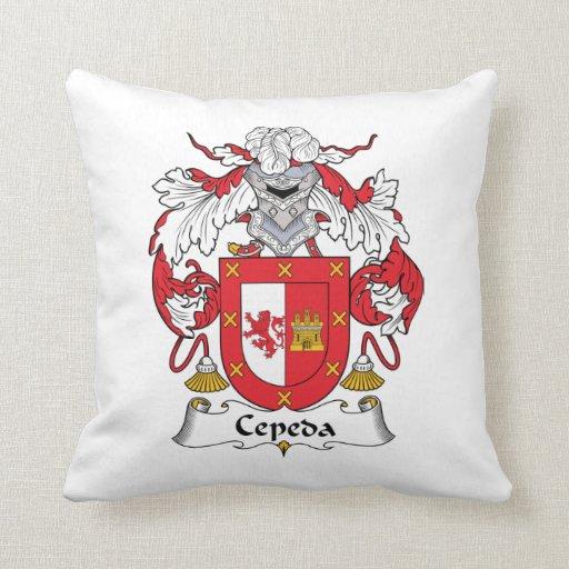 Escudo de la familia de Cepeda Almohada