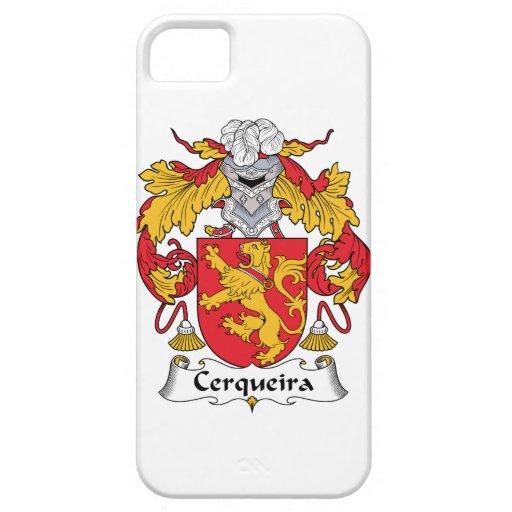 Escudo de la familia de Cerqueira iPhone 5 Case-Mate Cárcasas