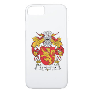 Escudo de la familia de Cerqueira Funda iPhone 7