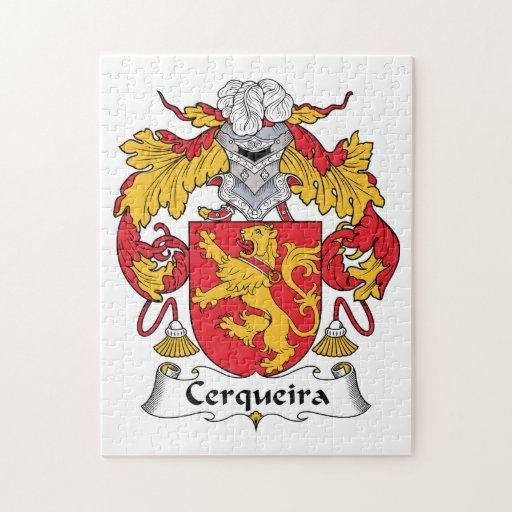 Escudo de la familia de Cerqueira Puzzles Con Fotos