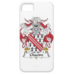 Escudo de la familia de Chacim iPhone 5 Carcasa