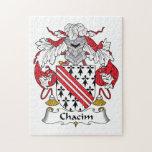 Escudo de la familia de Chacim Puzzles Con Fotos