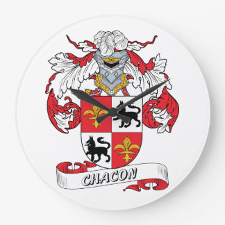Escudo de la familia de Chacon Relojes