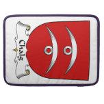 Escudo de la familia de Chalg Fundas Macbook Pro