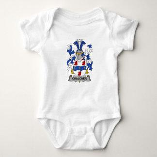 Escudo de la familia de Chaloner Body Para Bebé