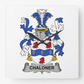 Escudo de la familia de Chaloner Relojes
